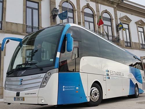 Caetanobus: Winner Euro 6 em Estarreja