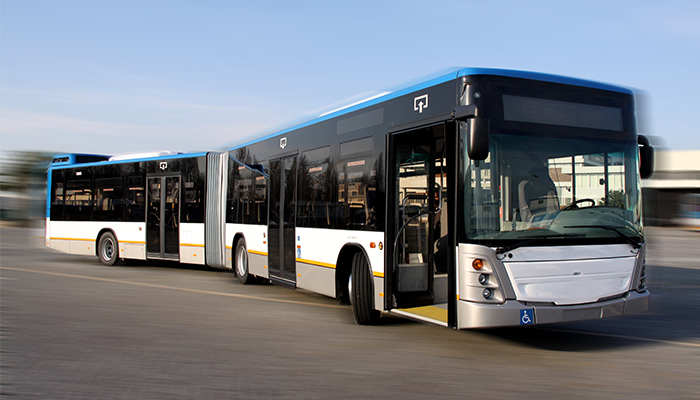 STCP Orders 20 Articulated City Buses, City Gold Cb518 Model