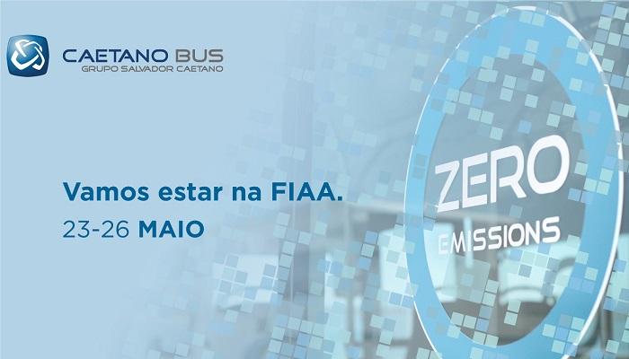 A CaetanoBus irá marcar presença na FIAA