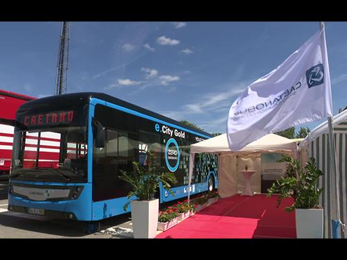 Caetanobus: Autocarro Elétrico no Luxemburgo