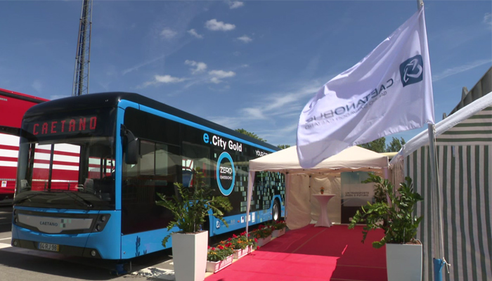 CaetanoBus promotes electric mobility in Luxembourg