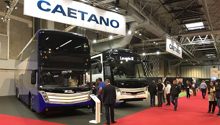 We are in Coach & Bus UK 2017 with news