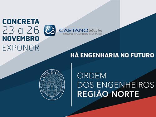 CaetanoBus irá marcar presença na Concreta