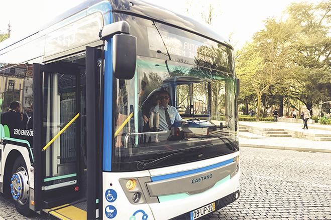 Novos autocarros CAETANO no Porto da STCP