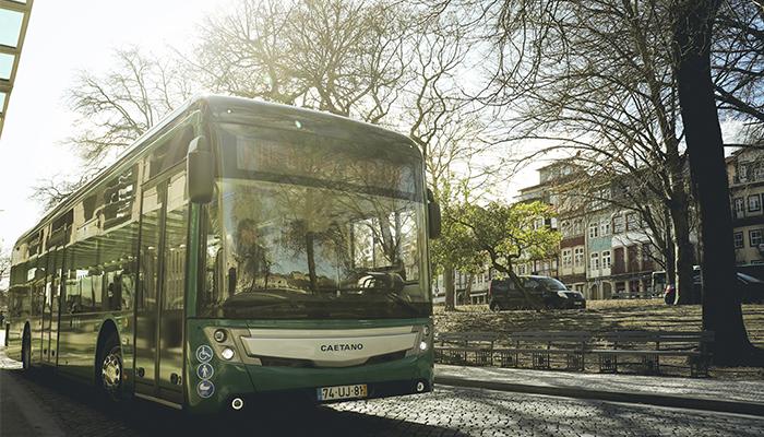Primeiro autocarro elétrico CAETANO chega a Guimarães