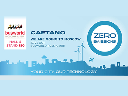 Caetanobus: On its way to Busworld Russia 2018