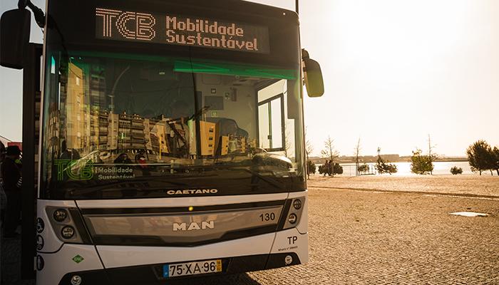 Novos autocarros CAETANO no Barreiro