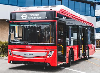 Caetanobus: Abellio London Bus orders 34 CAETANO electric buses
